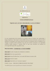 Locandina Tour Esperienziale Squillace CulturAttiva Calabria Contatto