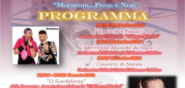 Muranum Prosa Note Teatro Allegra Ribalta Morano Calabro Calabria Contatto