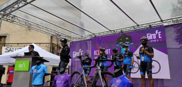 Scigliano ha ospitato la partenza della 4° tappa del GiroE
