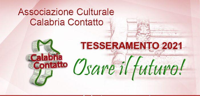 Tesseramento Soci 2021 Calabria Contatto