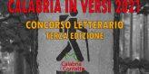 Concorso Letterario 2021 Locandina Calabria Contatto