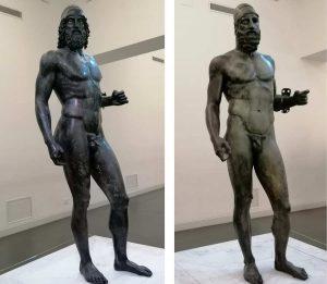 Bronzi Riace Museo Reggio Calabria Contatto