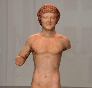 Kouros Museo di Reggio Calabria Contatto