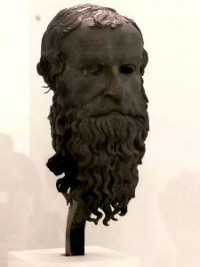 Testa del Filosofo Museo di Reggio Calabria Contatto