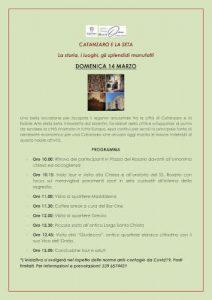 Catanzaro Seta CulturAttiva Eventi Calabria Contatto