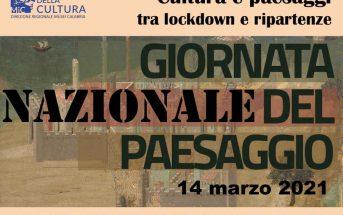 Gionata Nazionale del Paesaggio 2021 Locandina Calabria Contatto