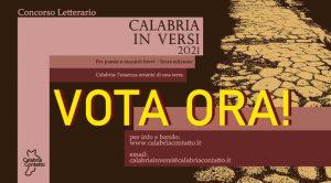 Concorso Letterario Voto Online Locandina Calabria In Versi 2021 Calabria Contatto