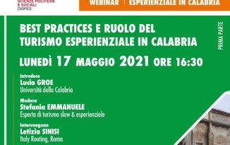 Turismo Esperienziale Webinar Unical Calabria Contatto