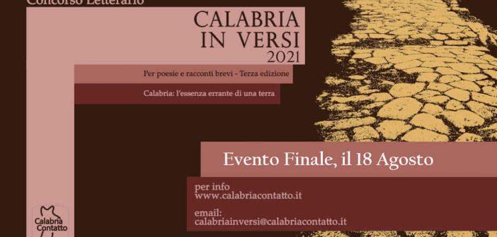 Calabria in Versi 2021: L'evento finale