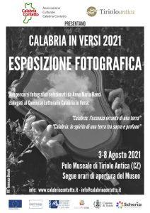 Locandina Esposizione Fotografica 2021 Tiriolo Antica Calabria Contatto