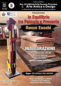Pittoscultura Renzo Eusebi Locandina Lamezia Calabria Contatto