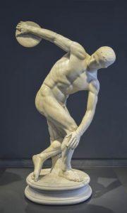 Discobolo Olimpiadi Olimpia Romano Museo Rubrica Calabria Contatto