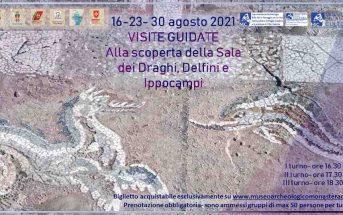 Kaulon Museo Parco Mosaico Draghi Delfini Ippocampi Calabria Contatto
