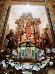 Gruppo Scultoreo Ligneo Santa Maria Degli Angeli Badolato Calabria Contatto