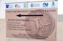 Parco Archeologico Antica Kaulon Cartello Calabria Contatto
